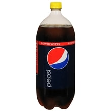Soda 2 Liter Bottle, Cola