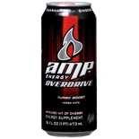 AMP Energy Overdrive Energy Supplement Drink