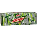 Diet Mountain Dew Soda 12 Pack Cans