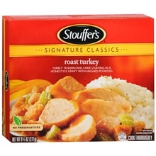 Signature Classics Frozen Entree, Roast Turkey