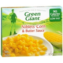 Frozen Vegetables, Niblets Corn & Butter Sauce
