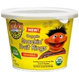 Earth's Best Sesame Street Organic Snackin' Fruit Rings Banana Banana