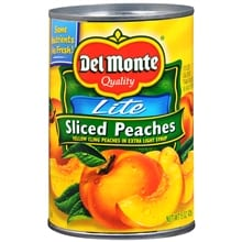 Lite Sliced Peaches in Extra Light Syrup
