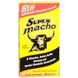 Super Macho Vitality and Stamina Dietary Supplement Softgel Capsules