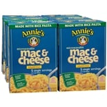Annie's Microwavable Mac & Cheese Gluten Free 5 Pouches 6 Pack Classic