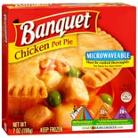 Banquet Chicken Pot Pie Frozen Entree