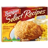 Banquet Select Recipes Frozen Entree Classic Fried Chicken