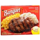 Banquet Frozen Entree Salisbury Steak
