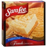 Sara Lee Frozen Cheesecake French