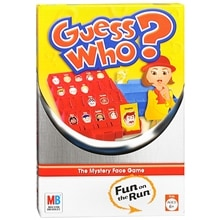 Milton Bradley Guess Who Travel Game Assorted
