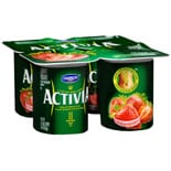Dannon Activia Lowfat Yogurt 4 Pack Strawberry