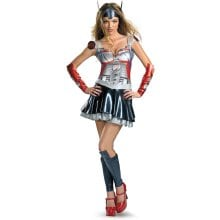 BuySeasons Costumes Transformers - Optimus Prime Sassy Deluxe Adult Costume 12-14 Small (4-6)