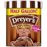 Dreyer's Grand Ice Cream Double Fudge Brownie