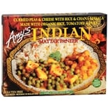 Amy's Frozen Entree Indian Mattar Paneer