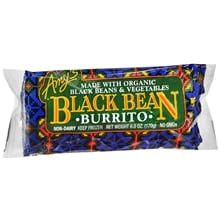 Frozen Burrito, Black Bean