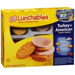Lunchables Lunch CombinationsTurkey + American Cracker Stackers