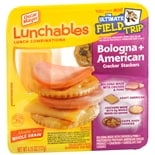 Oscar Mayer Lunchables Lunch Combinations Bologna + American Cracker Stackers