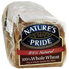 Premium Bread, 100% Whole Wheat