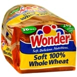 Wonder Bread Soft 100% Whole Wheat