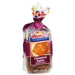 Wonder Breakfast Bread Cinnamon Raisin