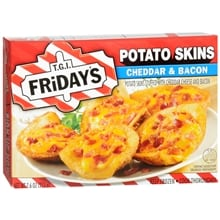 Potato Skins Frozen Snack, Cheddar & Bacon