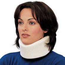 Soft Foam Cervical Collar, Average, Medium