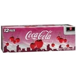 Coca-Cola Coke Soda 12 Pack Cans Cherry