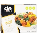 Good & Delish Frozen Dinner Garlic Orange Chicken