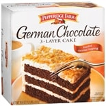 Pepperidge Farm Frozen 3-Layer Cake German Chocolate