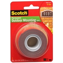 Scotch Permanent Outdoor Mounting Tape 1