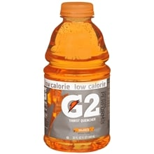 Low Calorie Thirst Quencher Beverage 32 oz Bottle, Orange