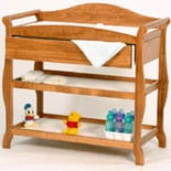 Storkcraft Aspen Changing Table with Drawer Oak