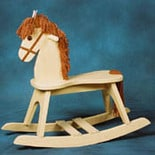 Storkcraft Rocking Horse Natural