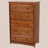 Storkcraft Beatrice 5 Drawer Chest Oak