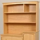 Storkcraft Beatrice Combo Hutch Natural