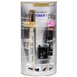 L'Oreal Voluminous False Fiber Lashes Kit Blackest Black (Black)