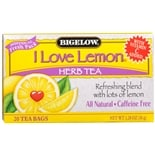 Bigelow Herb Tea Bags I Love Lemon