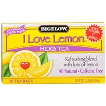 Herb Tea Bags, I Love Lemon