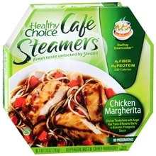 Cafe Steamers Frozen Entree, Chicken Margherita