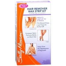 Hair Remover Wax Strip Kit, for Body, Legs, Arms & Bikini