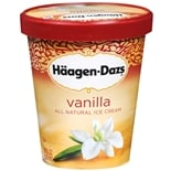 Haagen-Dazs All Natural Ice Cream Vanilla