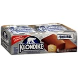 Klondike Frozen Dairy Dessert Bar 4 Pack Original