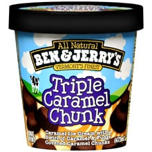 Triple Caramel Chunk Ice Cream