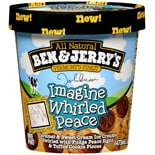Ben & Jerry's John Lennon Imagine Whirled Peace Ice Cream
