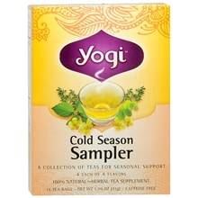 Herbal Tea Bags, Cold Season Sampler