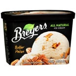 Breyers All Natural Ice Cream Butter Pecan