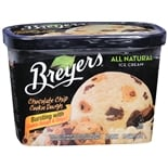 Breyers Ice Cream Chocolate Chip Cookie Dough