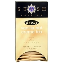 Premium Black Tea Bags Decaf, Vanilla Nut Creme