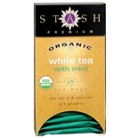 Stash Premium Organic White Tea Bags Mint
