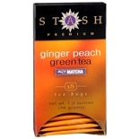 Stash Premium Green Tea Bags Ginger Peach
